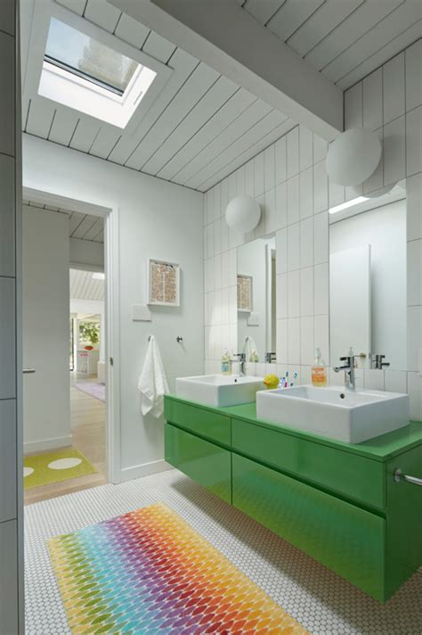 children s bathroom tiles colorful kids bathroom ideas maison valentina blog