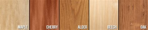 kitchen cabinet wood types kitchen cabinet wood species wood types for cabinets