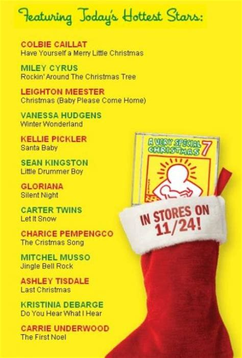 christmas song list a special album charice