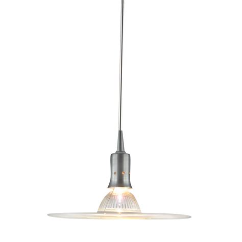 Pendant Lights For Track Fixtures Shop Jesco Suzy Satin Nickel Linear Track Lighting Pendant At Lowes
