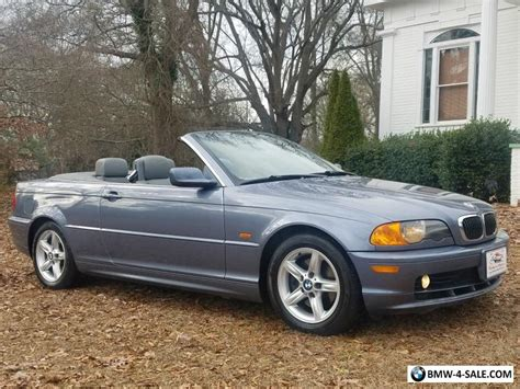 bmw for sale owner 2002 bmw 3 series convertible heated seats 1 owner no