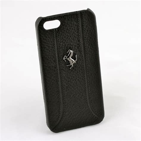 ferrari apple iphone   se official hand stitched