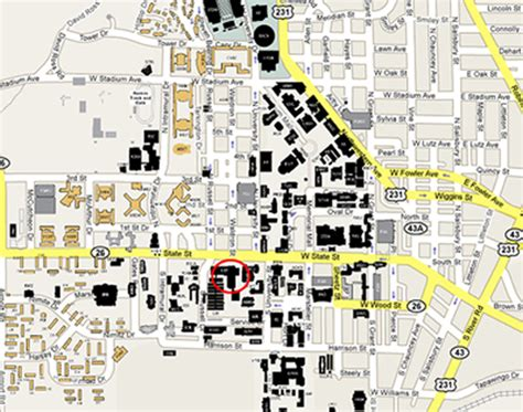 Purdue Mba Application Status by Purdue Map