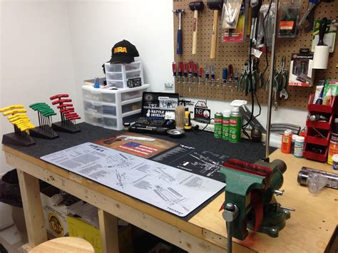 gunsmithing bench post your gunsmith shop pictures and video tours ar15