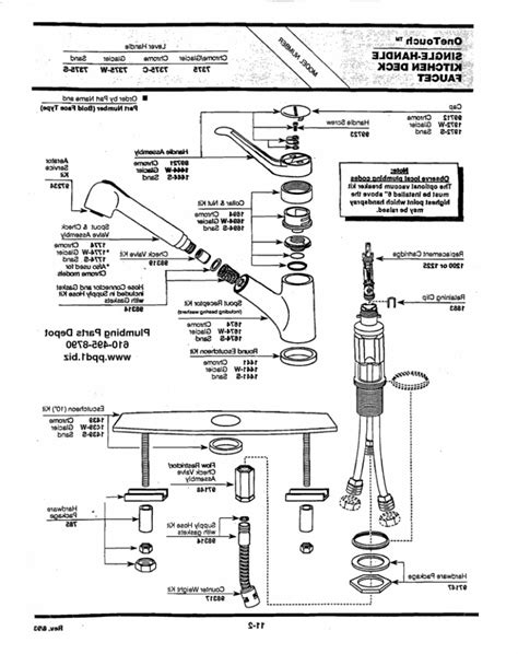 moen kitchen faucet repair diagram moen single handle kitchen faucet repair diagram
