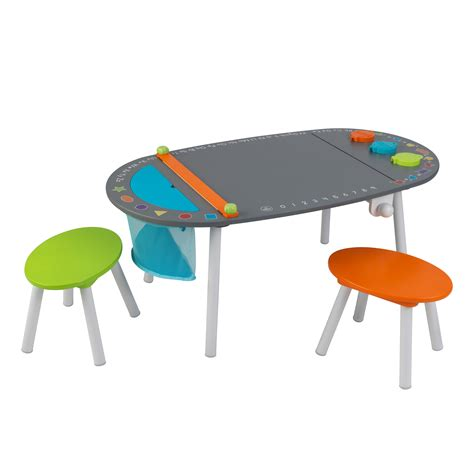Kidkraft Chalkboard Table With Stools kidkraft ritbord chalkboard table with stools