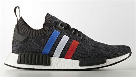 adidas nmd primeknit red white blue stripes complex