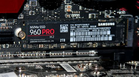 Ssd Samsung 960 Pro Nvme M 2 512gb samsung nvme ssd 960 pro review ubergizmo