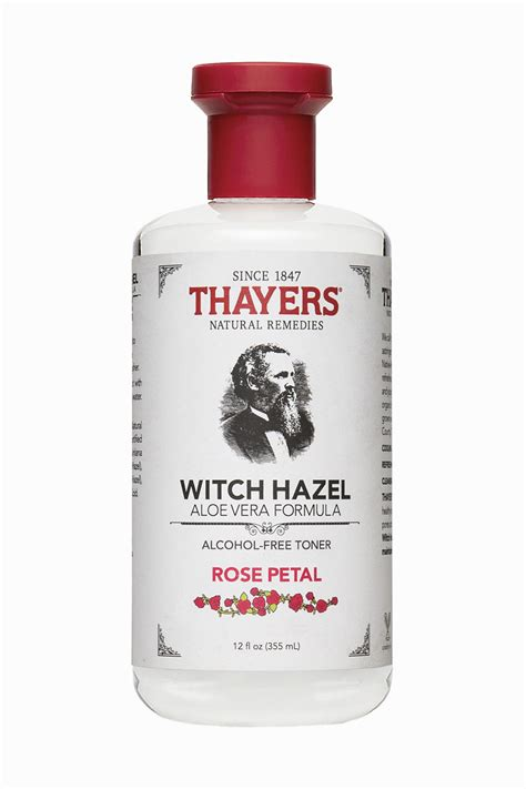 thayers alcohol free rose petal witch hazel toner thayers natural remedies