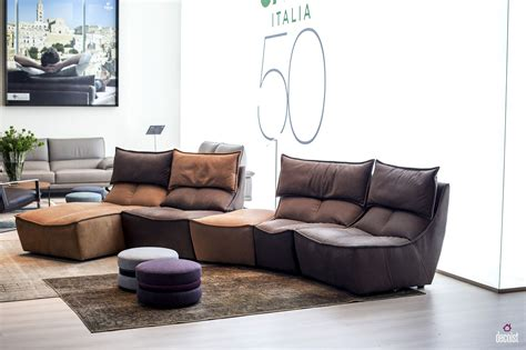 Calia Italia Leather Sofa 30 Bright And Comfy Sofas That Add Color To The Living Room