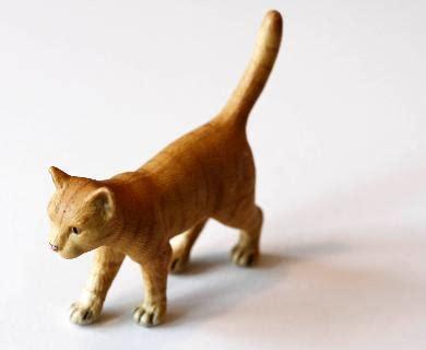 Schleich Kitten Figure schleich katze orange nr 1328 sehr gut essen