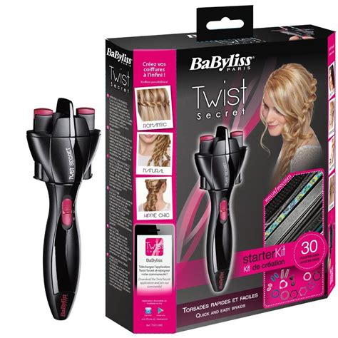 twist secret hair styler for curler hair care style