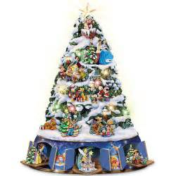 walt disney musical animated christmas tree tabletop