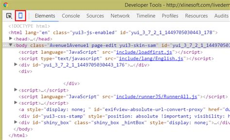 reset developer tools chrome testing web apps in mobile mode xlinesoft blog