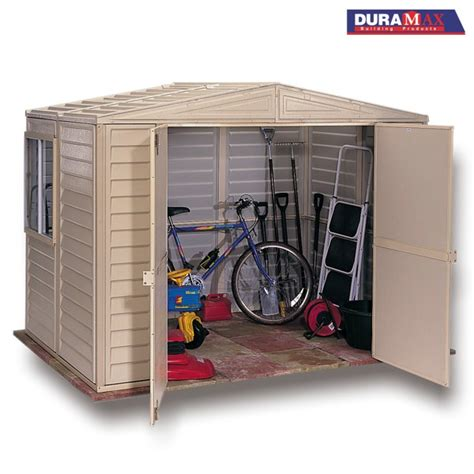 duramax duramate pvc shed 8ft wide