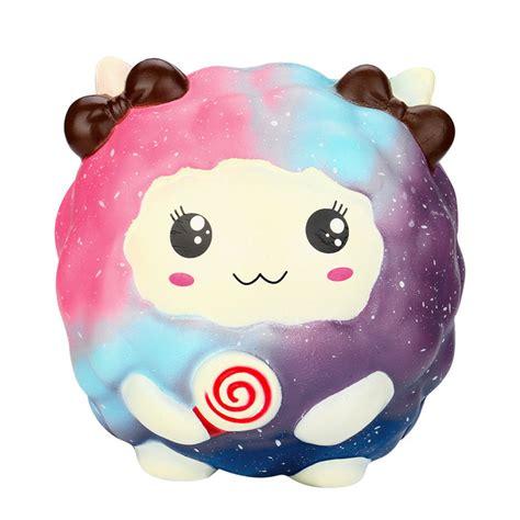 Squishy Jumbo Sheep jumbo galaxy marshmallow sheep squishy 183 kawaii squishy