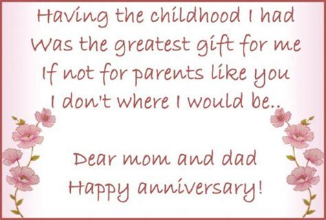 Wedding Anniversary Poems For Parents by Anniversary Wishes Quotes And Poems For Parents