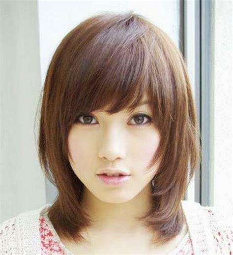 model rambut wanita korea  cantik   model