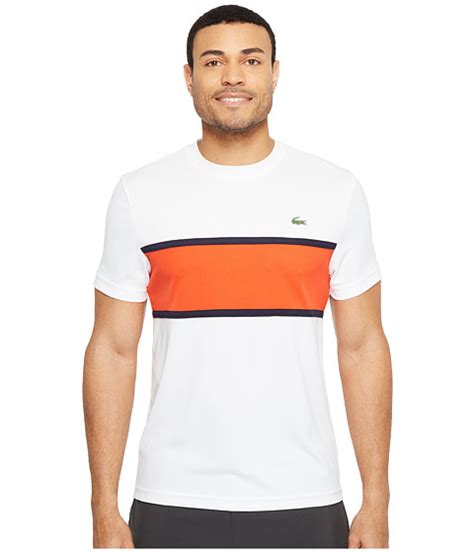 New Arrival Polo Shirt Lacoste Pe Polyester Diskon lacoste sport ultra t shirt w color block detail
