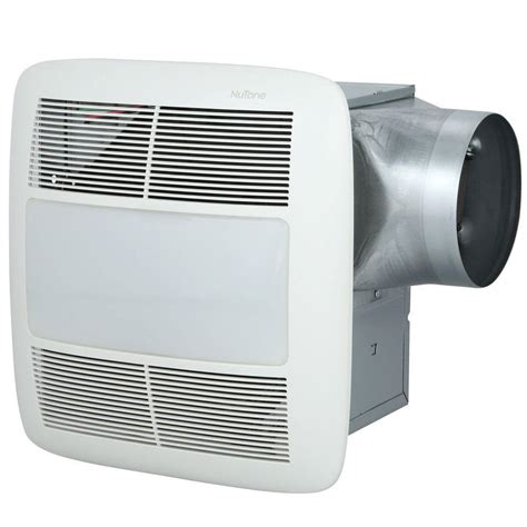 nutone light and exhaust fan nutone invent series 80 cfm ceiling exhaust bath fan with