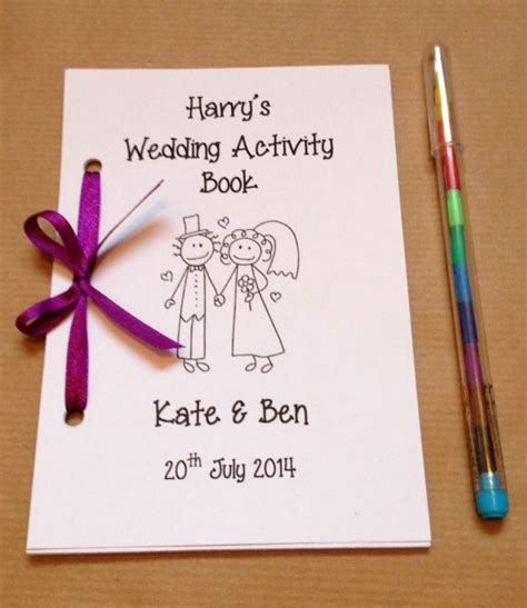 libro the marriage book las 25 mejores ideas sobre actividades para los invitados