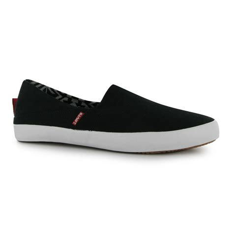 trainers c 3 68 70 levis sunset slip on casual shoes mens gents ebay