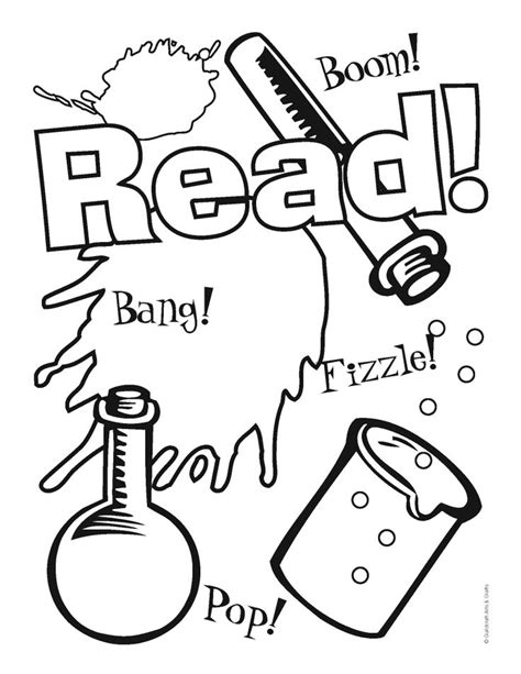 summer reading coloring page 17 best images about fizz boom library summer reading