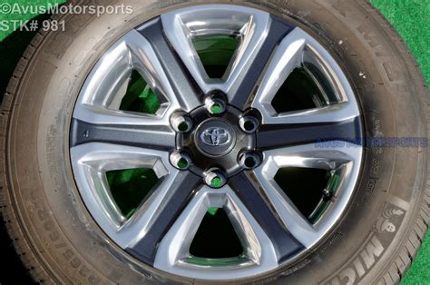 Toyota Tacoma Factory Wheels 2016 Toyota Tacoma Limited Oem Factory 18 Quot Wheels Land