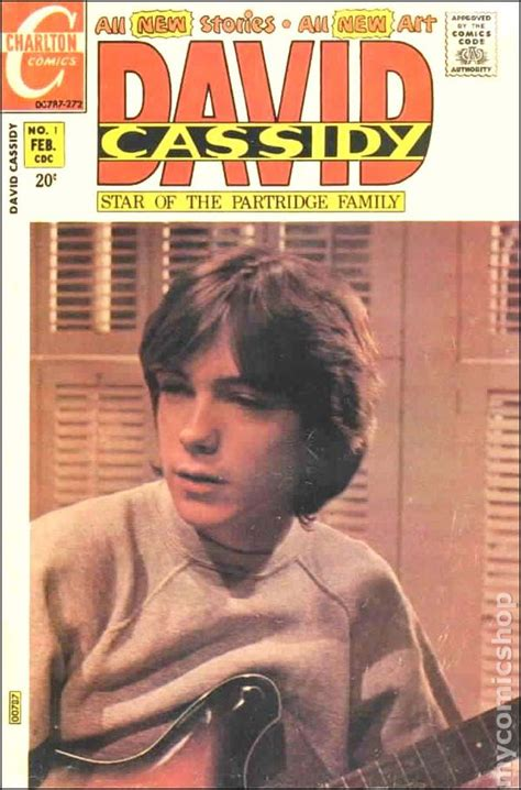 david cassidy the last books david cassidy 1972 comic books