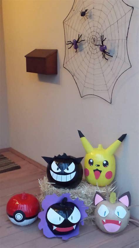 pokemon pumpkins halloween pinterest pokemon pumpkin