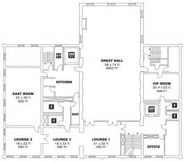 Marriage Hall Floor Plan by St Lawrence Hall