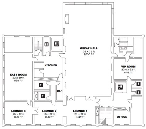 Marriage Hall Floor Plan | wedding venue plan of building google search banquet