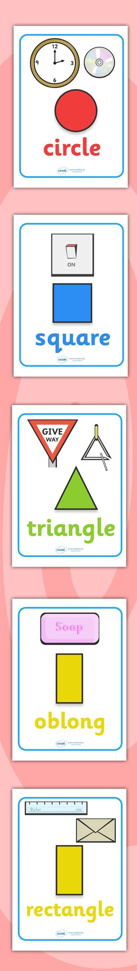 printable shapes for classroom display top 25 ideas about shape posters on pinterest printable