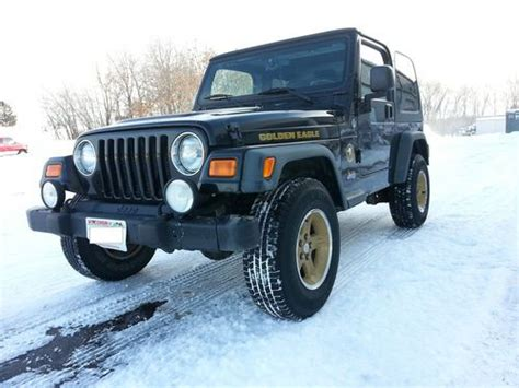 2006 jeep golden eagle buy used 2006 jeep wrangler sport golden eagle 4 0l in