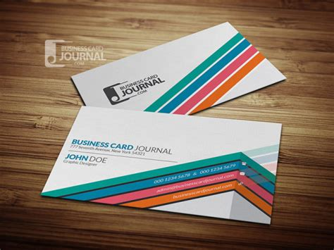 unique business card templates free free creative unique corporate business card template