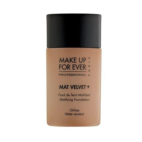 Makeup Forever Mat Velvet rank style make up for mat velvet matifying foundation