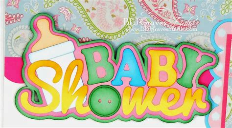 Baby Shower Scrapbook Pages by Blj Studio Baby Shower Scrapbook Pages