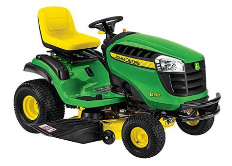 lawn tractor d130 deere ca