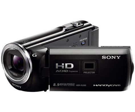 Handycam Sony Projector Pj380 sony hdr pj380 16gb hd camcorder with projector