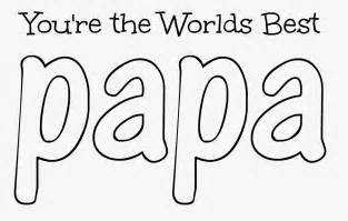 father s day printable coloring pages papa
