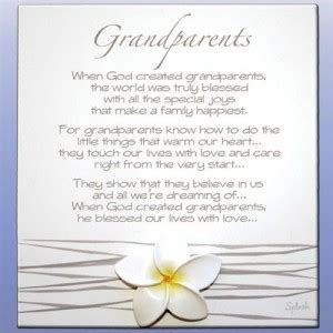 Wedding Blessing From Grandparents by Thank You Quotes For Grandparents Quotesgram