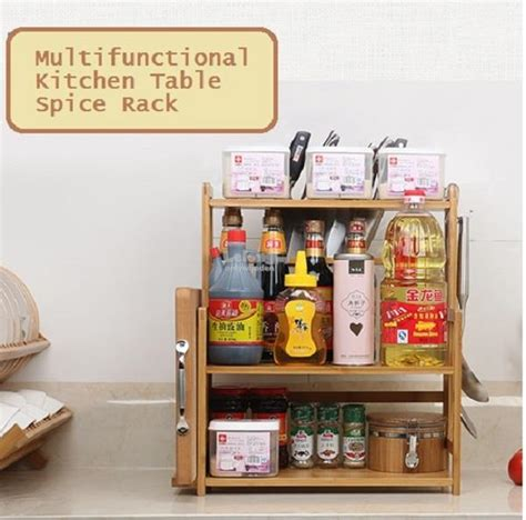 Table Spice Rack Wooden Kitchen Table Spice Rack Wood End 4 8 2017 4 15 Pm