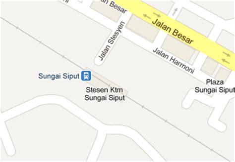 Ktm Intercity Map Sungai Siput Railway Station Mrt My