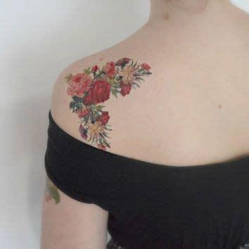 flower tattoo etsy best 25 vintage floral tattoos ideas on pinterest