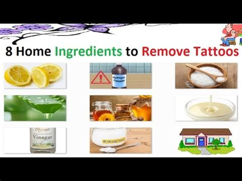 how to remove a tattoo with home remedies tattoo removal