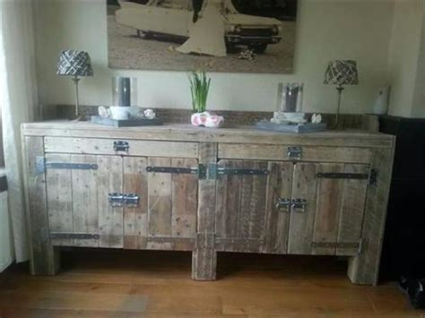 diy kitchen furniture pallet furniture is economical and best solution pallets