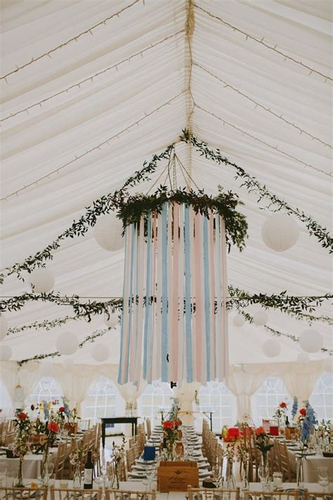 Marquee Ceiling Decorations by Wedding Table Decorations Inspiration The Wedding Of