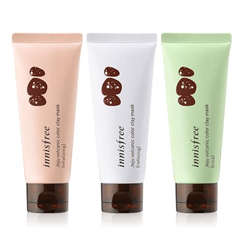 Innisfree Jeju Color Clay Mask Black mặt nạ innisfree jeju volcanic color clay mask jeju