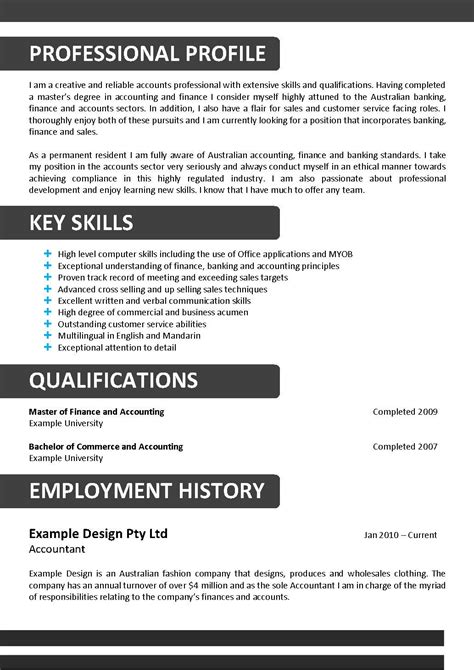 cv key qualifications sle choice image certificate