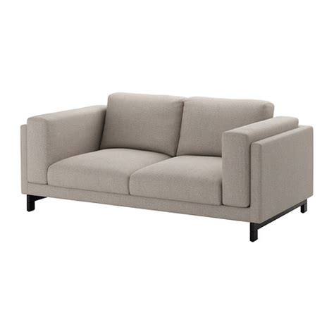 light grey loveseat nockeby loveseat ten 246 light gray wood ikea